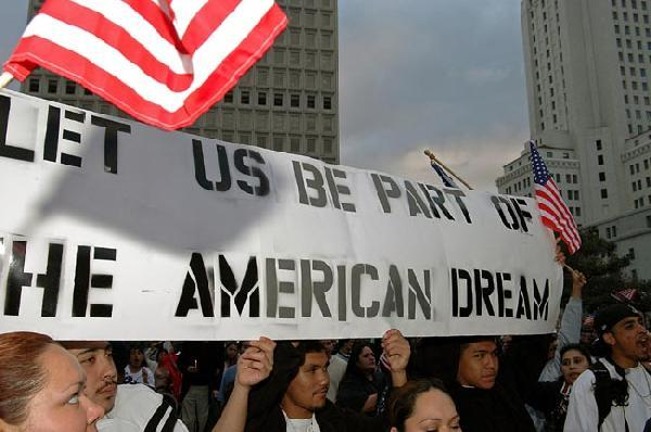 Image result for THE AMERICAN DREAM - IMMIGRATION