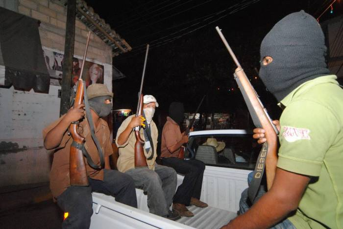 Grupos de Autodefensa en México, una flama muy cerca del pajar