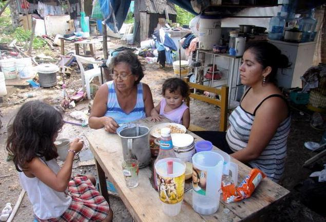 Los Pobres como carne de cañón  en la guerra electoral de México