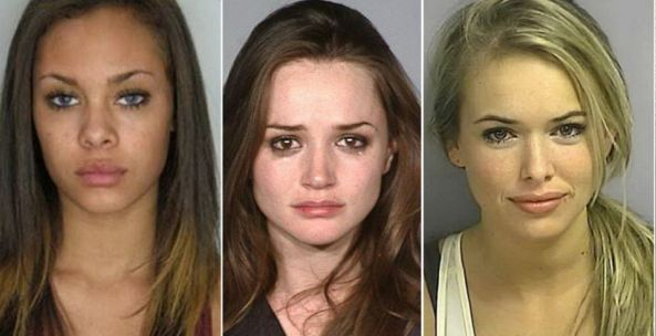 Don't let them steal your heart: How some bad girls look good… in their police mugshots
