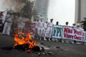 Extremistas en contra de Miss Mundo 2013