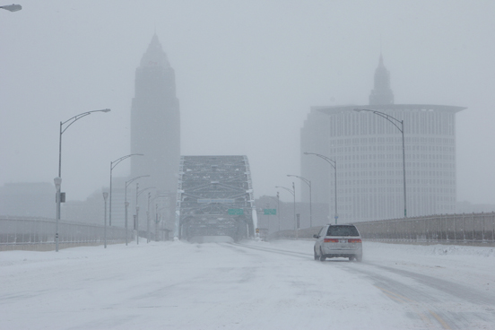 City of Cleveland Prepares For Winter Snow