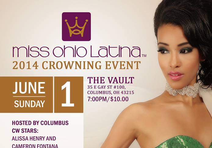 Carolina Peguero for Miss Ohio Latina 2014