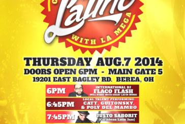 Latino night with La Mega