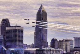 2014 Cleveland National Air Show at Burke Lakefront Airport