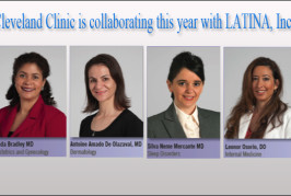Cleveland Clinic is collaborating this year with LATINA, Inc., to present a dialogue on women's health.