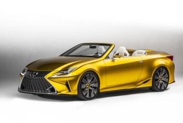 LF 2C Concept: un descapotable para Lexus