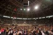 Cerca de 2 mil parejas se casaron en una boda colectiva en Brasil