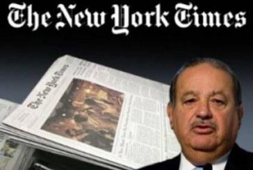 Slim, principal accionista del The New York Times