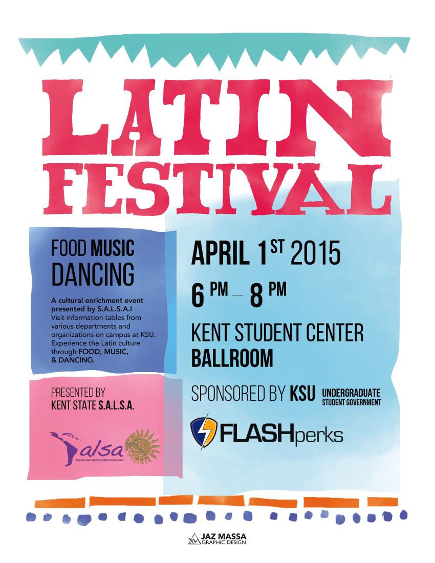 Latin Festival Flyer (2)