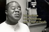 Why Louis Armstrong wore a Star of David throughout most of his adult life