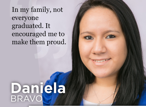 For some, it takes many years to learn a language, but for Daniela Bravo, it only took six months.