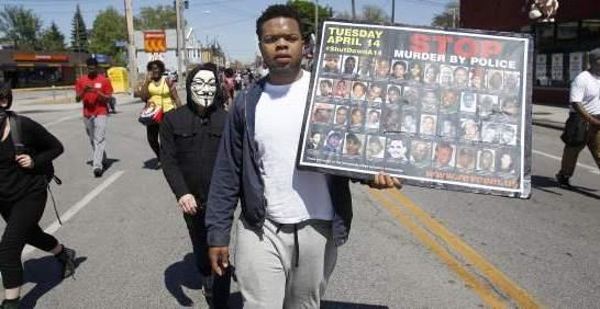 Más de 70 arrestos en protestas en Cleveland tras la absolución del policía Michael Brelo