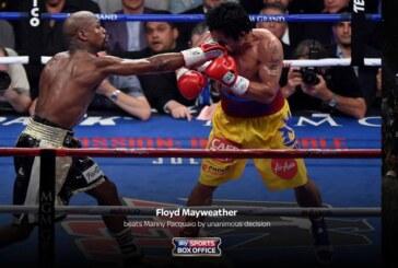 Mayweather derrota a Pacquiao en el 'combate del siglo': más récords millonarios que boxeo