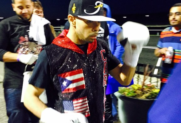 Nieves scores 1st round knockout!