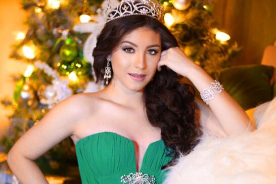 Luisa Mendoza Bravo: Miss Teen Ohio Latina 2015,  durante las Épocas Navideñas