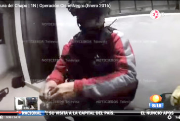 Video durante la captura del Chapo Enero 2016