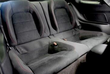 Ford desarrolló nuevos asientos traseros para el Shelby Mustang GT350R