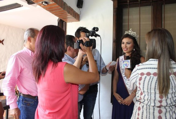 Miss Ohio Latina 2016 is welcome in her hometown La Plata, Colombia