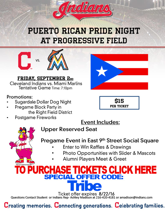 Cavs Rican event