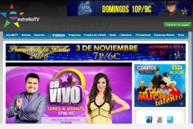 Estrella TV Supera a Las Dos Cadenas Hispanas de Television Principales en Aumento en las Marcas de Audiencia Año Con Año