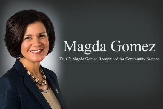 Tri-C's Magda Gomez Recognized for Community Service