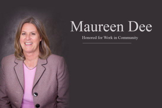 Maureen Dee  Honored for Work in Community