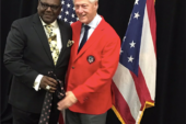 Bill Clinton visits Ginn Academy