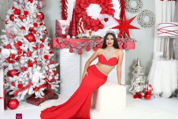 Miss Ohio Latina 2017, Paulina Rivera during the Holidays!
